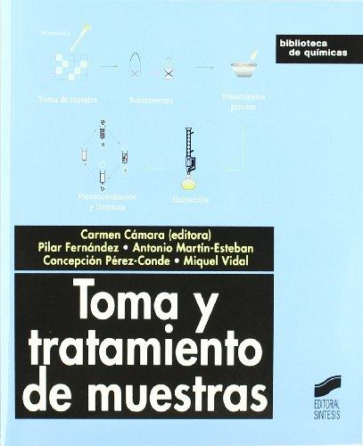Toma y tratamientos de muestras (Biblioteca de químicas) por Carmen Cámara Rica