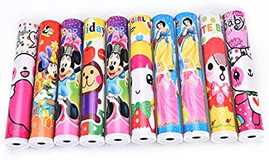 Jiada Birthday Party Return Gifts Pack Of 12 Fun Magic Kaleidoscopes - Best Gifts - Children Educational Science Toy