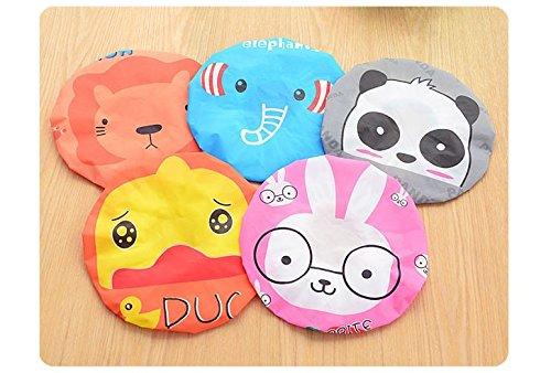 Dmtse Lot de 6 bonnets de douche Motif Dessin animé japonais