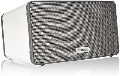 Sonos PLAY - Altavoces (universal, Mesa/estante, Montar en la pared, Incorporado, Inalámbrico, RJ-45, Wi-Fi) (importado)