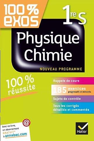 Livre Physique Chimie - Physique-Chimie 1re S: Exercices résolus (Physique et