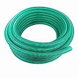 Saugschlauch Spiralschlauch Förderschlauch Pumpenschlauch grün 25 Meter Rolle 19mm (3/4