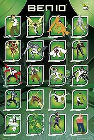 Ben 10 - Poster - Compilation + Ü-Poster