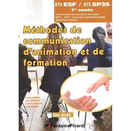 Méthodes de communication d'animation et de formation BTS 1re année ESF et SP3S