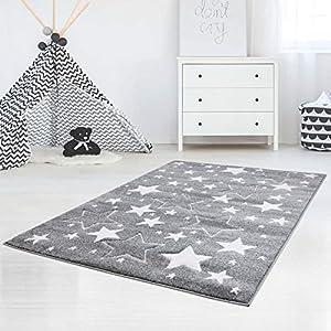Teppich Grau Mit Sternen In Weiss Gunstig Online Kaufen Dein Mobelhaus