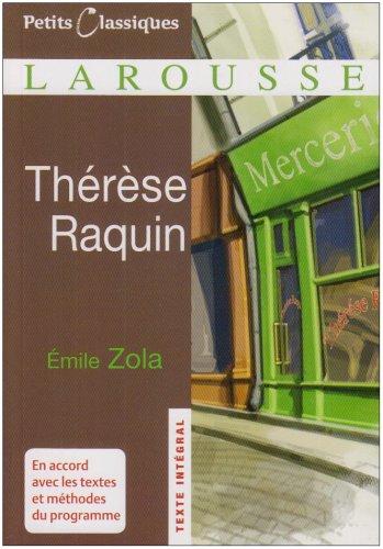 Thérèse Raquin par Emile Zola