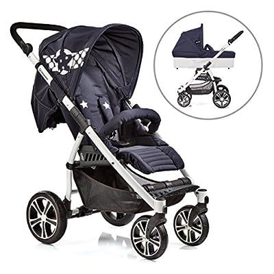 S4 Air+ Buggy mit Liegefunktion inkl. C3 Babywanne und Grundadapter Maxi Cosi