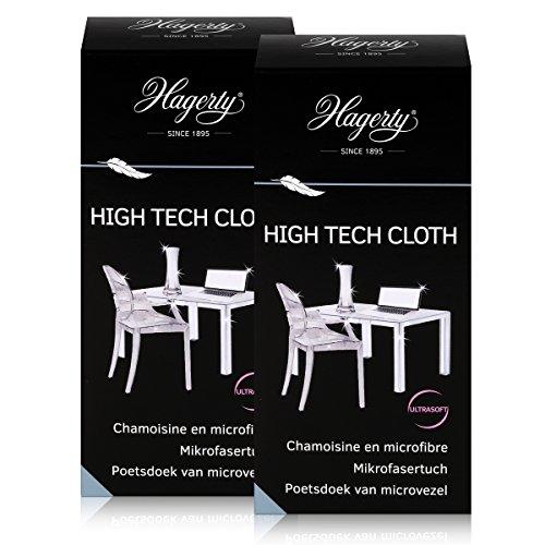 Preisvergleich Produktbild Hagerty High Tech Cloth - Extra weiches Mikrofasertuch 40x36cm (2er Pack)