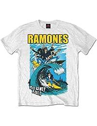 Ramones Rockaway Beach - camiseta Hombre