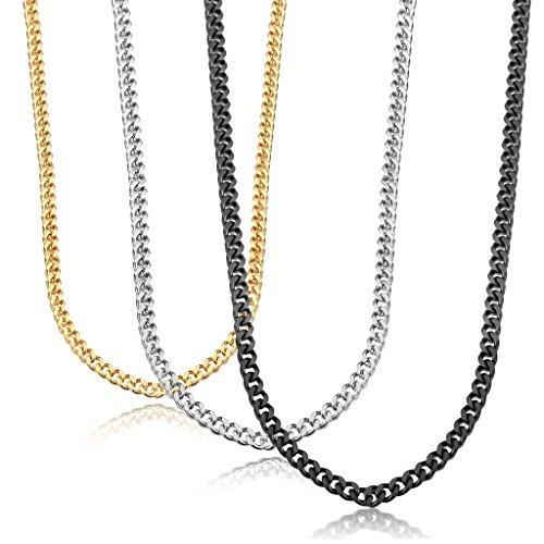 jstyle-bijoux-3-pcs-collier-homme-femme-chane-acier-inoxydable-couleur-noir-argent-jaune-46-76cm