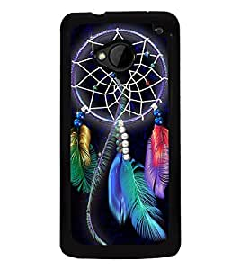Dream catcher 2D Hard Polycarbonate Designer Back Case Cover for HTC One :: HTC One M7