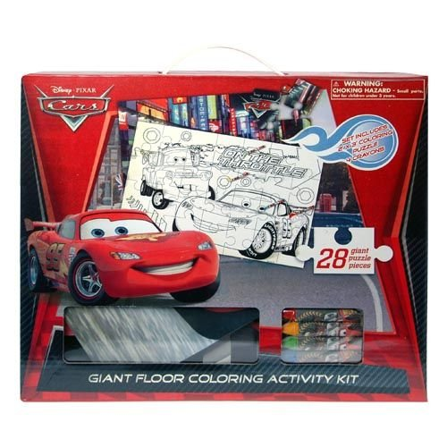 cars-disney-pixar-giant-floor-28-piece-puzzle-coloring-activity-kit-by-disney