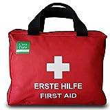 90-teiliges Premium Erste-Hilfe-Set - enthält Sofort Kühlpacks, Augenspülung, Rettungsdecke für...
