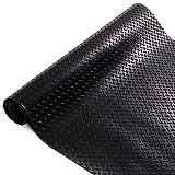 Gummiläufer | Meterware in vielen Größen | Gummimatten mit rutschhemmender Oberflächenstruktur | Tränenblech-Struktur 100x200 cm | Stärke: 3 mm