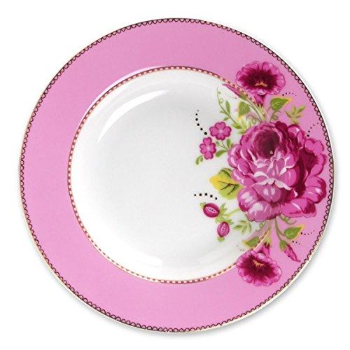 Preisvergleich Produktbild Pip Studio Suppenteller 21, 5 cm Pink