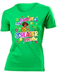 DAS IST MEIN SCHLAGER KOSTÜM T-Shirt Damen S-XXL