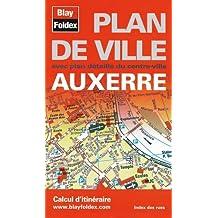 Auxerre : Plan de ville