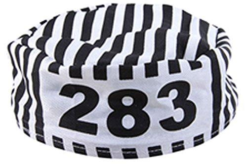 Bagnard Kostüm - P 'tit Clown 75430Schiffchen (Uniform) von bagnard Erwachsene-Mehrfarbig