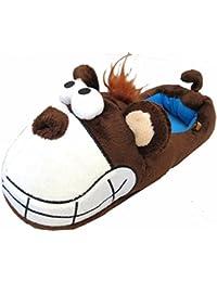 Big Grin Mouse, Monkey & Moose UNISEX ADULT SIZES Novelty Slippers