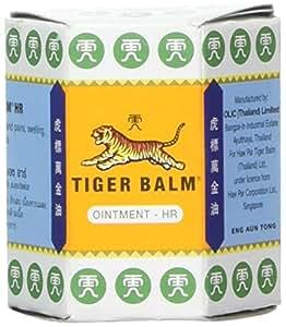 Tiger balm - Baume du tigre blanc - 30 g baume - Soulage et décongestionne