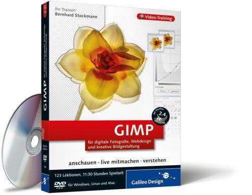 GIMP für digitale Fotografie, Webdesign und kreative Bildgestaltung. Das Video-Training auf DVD