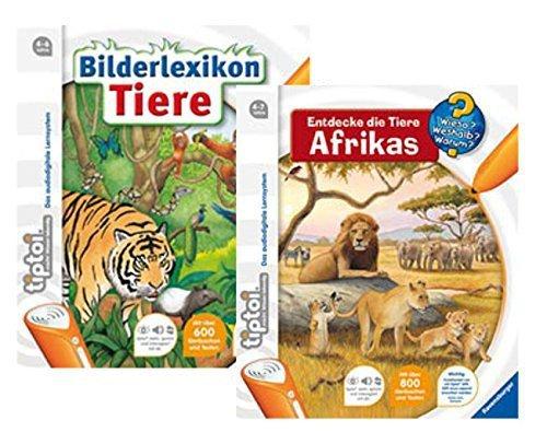 Ravensburger Tiptoi Buch Bilderlexikon Tiere und Buch Entdecke die Tiere Afrikas - 9120063890620
