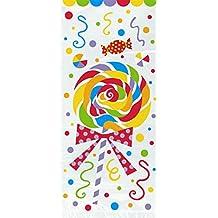 Unique Party 42260 - Buste per Festa con Caramelle in Cellophane, Confezione da 20