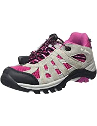 Columbia Childrens Redmond Explore Waterproof, Zapatos de Low Rise Senderismo Para Niñas