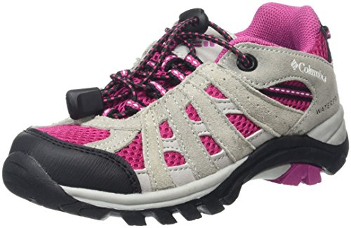 ColumbiaCHILDRENS REDMOND EXPLORE WATERPROOF - Scarpe da Arrampicata Basse Unisex per bambini Rosa (Deep Blush/White 684Deep Blush/White 684)