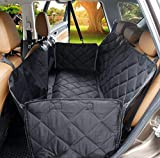 Dog Car Seat Cover, SCOPOW Scratch Proof Back Seat Cover Machine Washable Non-Slip