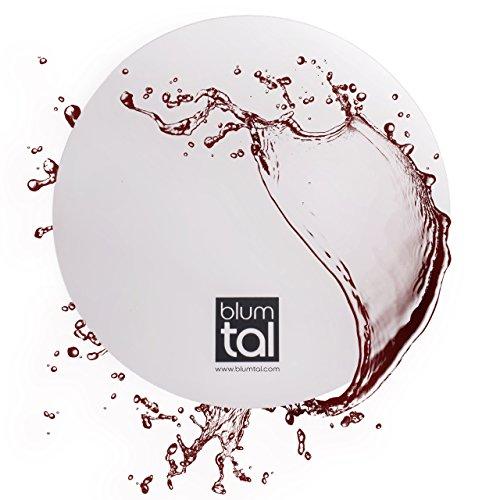 6 Stück Ausgießer | Tülle für Wein | Verhindert Tropfen beim Ausschank von Weinflaschen | Barzubehör | Gastronomie Weinzubehör | Weinaccessoires Geschenk von Blumtal (1 Set)