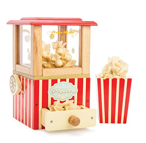 Le Toy Van Honeybake Holz-Popcorn-Maschine -