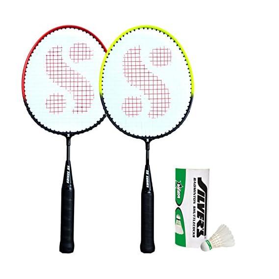 Silver's Kids SIL-Pedal Combo-5 Aluminum Badminton Set