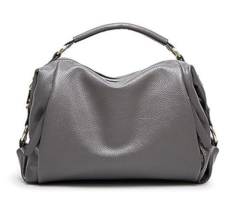 YAAGLE Neu Damen Handtasche Umhängetasche mit Hellem Farbton für Arbeit Freizeit Shopper