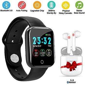 Smartwatch Reloj Inteligente, Pulsera Deportiva Monitor ...
