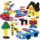 Byx- Blocs de Construction - Blocs de Construction Inserts Jouets Bricolage créatif Petites Particules assemblées en Vrac Jouets éducatifs pour Enfants -
