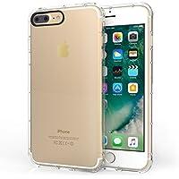 Centopi iPhone 7 Plus TPU Gel Case [Air Bumper] Transparent Cover - Clear