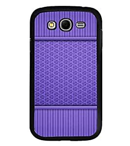 Fuson Premium 2D Back Case Cover Blue pattern With grey Background Degined For Samsung Galaxy Grand i9080:::Samsung Galaxy Grand i9082