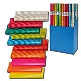 20 Rollen Geschenkpapier Colour Mix Papier