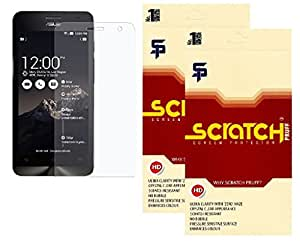 Scratch Pruff Matte Screen Guard For Asus Zenfone 6 Pack Of 2