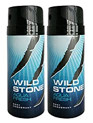 Wild Stone Deo Aqua Fresh (Pack Of 2)