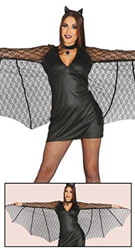 Sexy Kostüm Fledermaus - Guirca Finsteres Kostüm Fledermaus Sexy Womens, M, 84460.