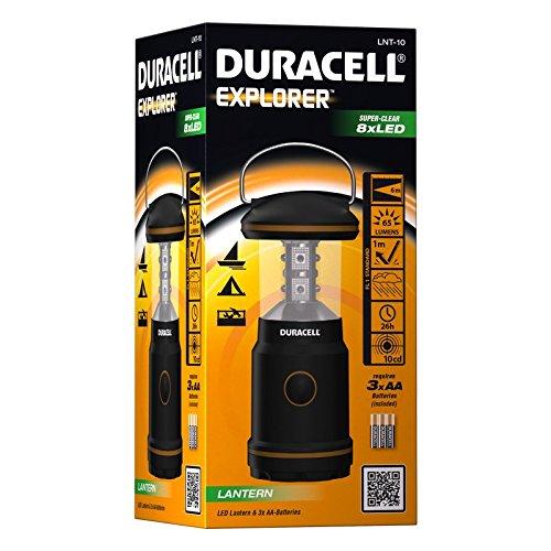 Camping Linterna Duracell Explorer LNT-10