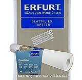 Wacolit-Set 1 Rolle 18,75m² Erfurt Variovlies ECO 150 inkl. 1x Erfurt Vlieskleber, Erfurt Vliestapete Renoviervlies