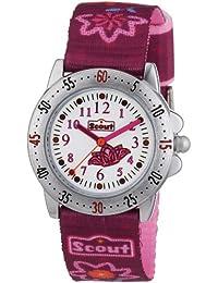 Scout Mädchen-Armbanduhr Analog Quarz Textil 280378064