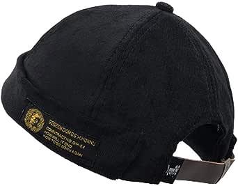 Clape Brimless Hat Cap Cotton Beanie Dockers Cappello da pescatore cappello da uomo docker cappellino da uomo e da donna in tutte le misure