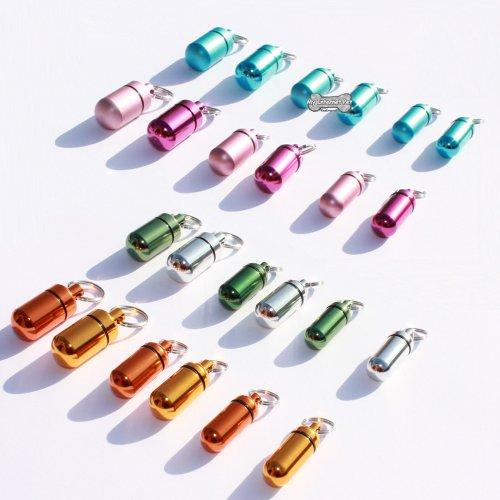 dog-tag-id-aluminium-tube-barrel-for-collars-pink-metallic-12mm