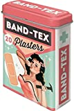 Nostalgic-Art 86107, Say it 50's Band Tex Plasters, Pflasterdose