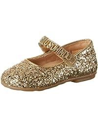 Moschino 25965 Glitter Oro - Bailarinas Niñas