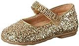 Moschino Mädchen 25965 Glitter ORO Geschlossene Ballerinas, (Gold), 22 EU